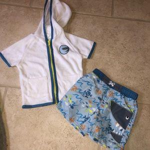 Baby swim suit cover diaper I play sol swim new